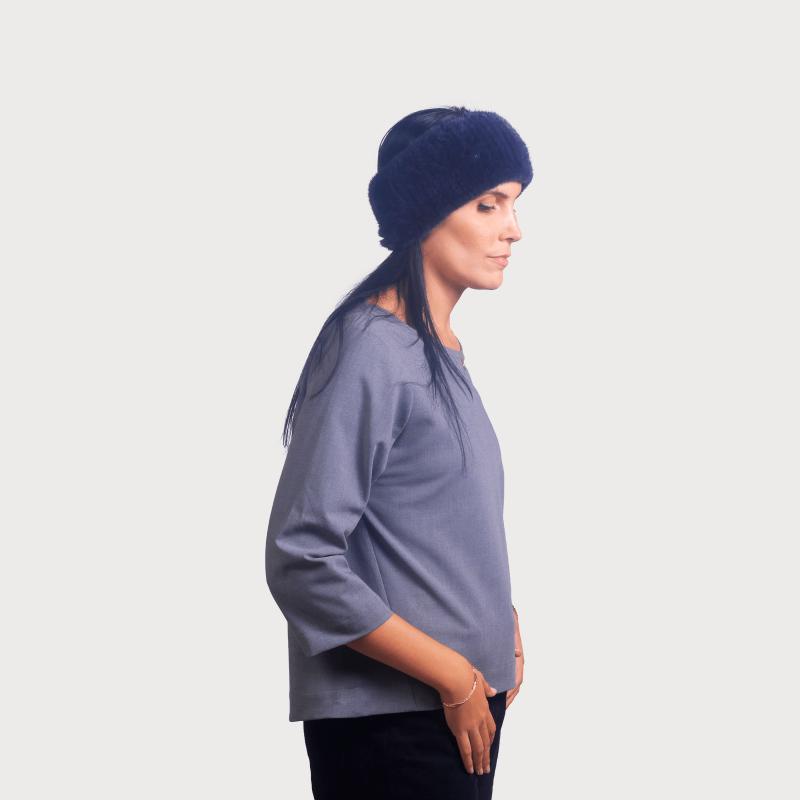 Headband vison navy blue
